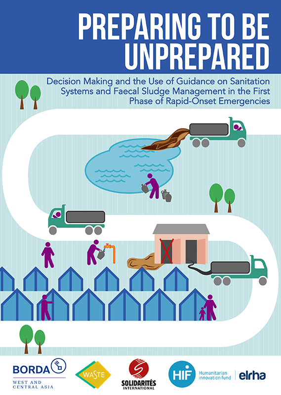 Preparing to Be Unprepared: Decision making and the use of guidance on sanitation systems and faecal sludge management in the first phase of rapid-onset emergencies